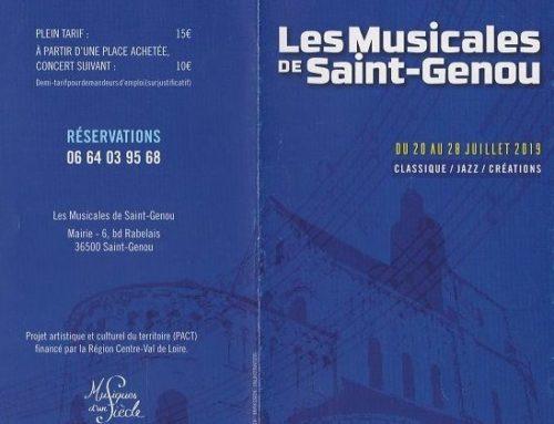 LES MUSICALES DE SAINT-GENOU